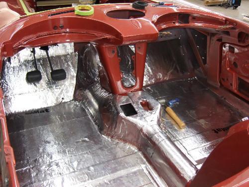 Zirgo 315713 Heat /& Sound Deadener for 82-02 Camaro Headliner Stg3 Roof Kit