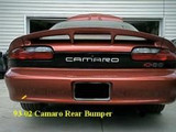 93-02 Camaro Rear Bumper Cover, New GM