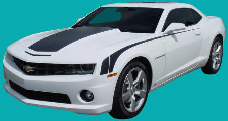 Chevy camaro hockey stick style side decal kit Available in many colors