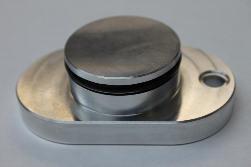 Camaro//Firebird LS1 Billet Aluminum Black EGR Intake Block Off Plate *CBW-003B