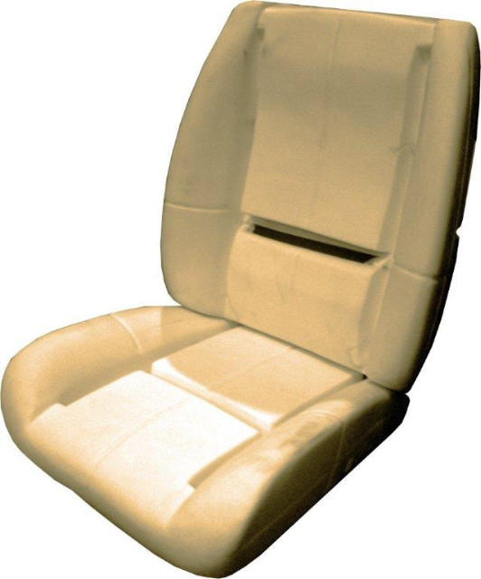 Seat Foam 84 92 Camaro Deluxe Lowback Bucket Seat Foam With Wire