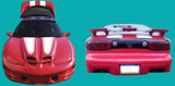 98-02 Trans Am Ram Air Decal and Stripe Kit
