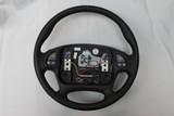 Leather Steering Wheel, 00-02 Firebird Trans Am Ebony Leather Steering Wheel New GM w/ Radio Controls