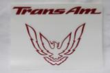 93-02 Trans Am Rear Tail Light Filler Panel Decal