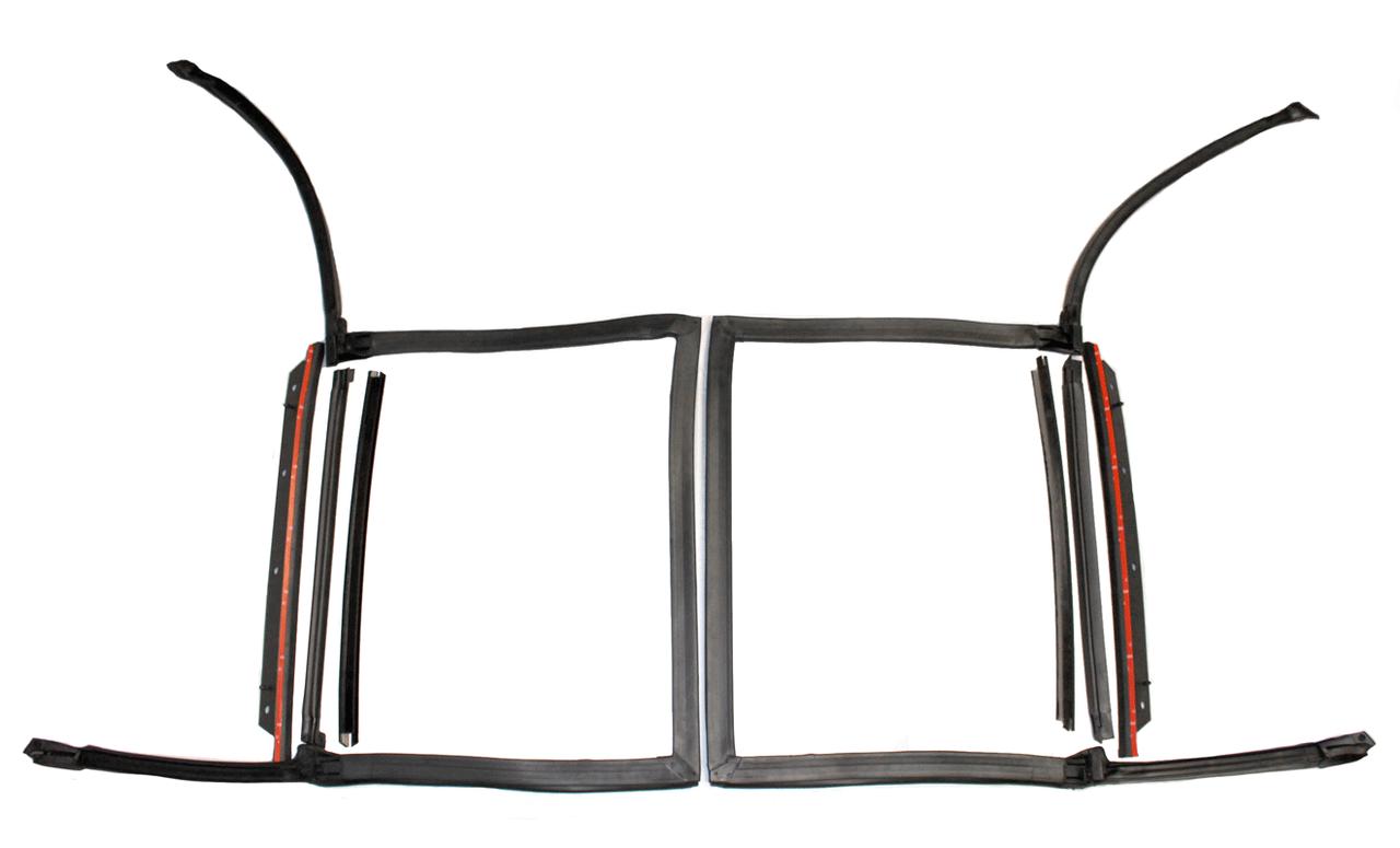 82-92 Camaro//Firebird T-Top Plastic Drip Edge Weatherstrip Seal *HT-KG4030