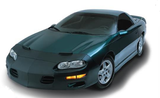 Front Mask, Camaro 98-2002 Z28, SS Front Bra Mask, FOR CARS WITHOUT GROUND EFFECTS