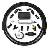 82-02 Camaro Firebird 900 HP External Fuel Pump System Kit, 255 LPH In-Line Pump