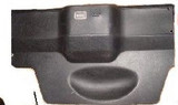 Trim Plastic, 82-92 Camaro/Firebird Rear Hatch Motor Cover Plastic (style with Electric Hatch Motor)