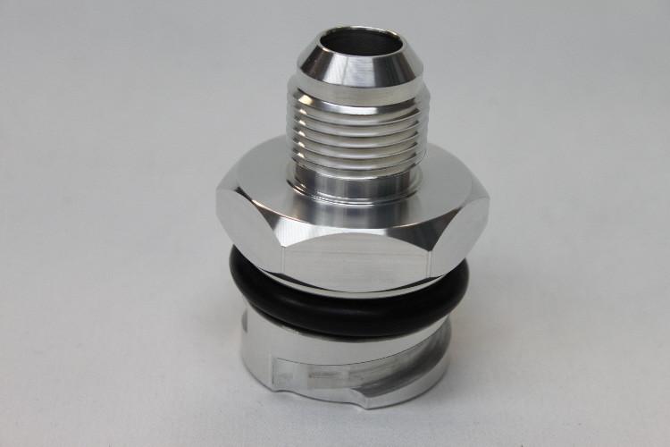LSX LS1/LS6/LS2/LS3 Billet Valve Cover Oil Cap Adapter w/ -10 AN Fitting