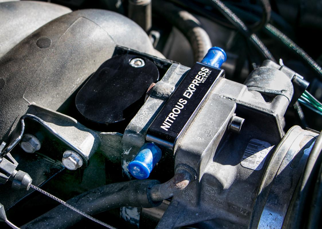 LS1 INTAKE EXHAUST BLOCK OFF EGR DELETE Smog Plate Chevy Camaro LS Z28 98-02 5.7