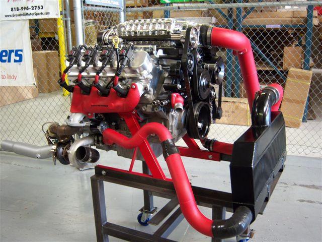2010-2013 Camaro L99/LS3 Twin Turbo Kit