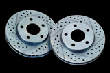 2010-2013 Camaro Base Rear OE Replacement Decela Rotors, BAER