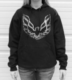 Phoenix Bird Fleece Pullover- SMALL ONLY
