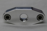 "LSX Oil Pan Port 1/4"" NPT Billet Oil Supply Adapter Plate LS1/LS2/LS3/LS6"