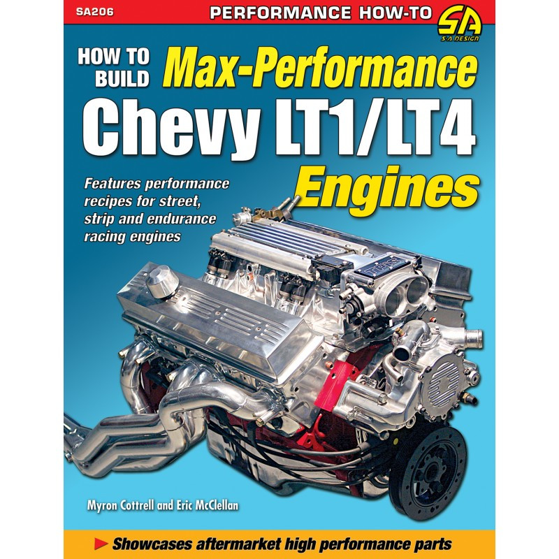 How to Build Max Performance Chevy LT1/LT4 Engines Book/Manual