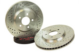 1988-1992 Camaro/Firebird, OE Replacement , Rear (w/ 1LE Performance Package) Baer Sport Rotors