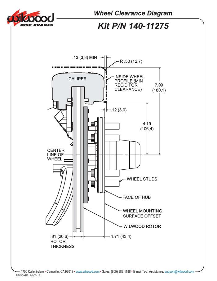 82-92 Camaro/Firebird, Wilwood Forged Dynalite Big Brake Front Brake Kit  (Hub)