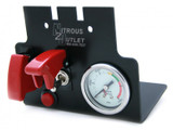 98-02 F-Body Console Switch Panel With Small Gauge, Nitrous Outlet