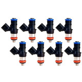 80lb LS3 LS7 LS9 LSA 850cc Flow Matched Bosch Injectors, Set of 8