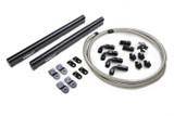 Holley LS Hi-Flow Fuel Rail Kit Includes Fittings & Hoses LS1/LS2/LS3/LS6/L99