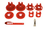 2010-11 Camaro Rear Cradle Bushing Kit, Inserts Only, Street Version, BMR