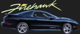 1993-2002 Firehawk Door & Bumper Decal Kit