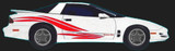 1993-2002 Firebird Decal & Side Feathers, 1999 Pace Car Style