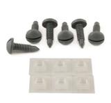82-88 Camaro/Firebird Interior Hatch Screw and Retainer Nuts Kit (QTY. 6), Gray