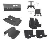 85-87 Camaro Light Charcoal Encore Cloth Standard Interior Kit