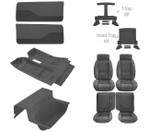 85-87 Camaro Deluxe Light Charcoal Encore Cloth Interior Kit