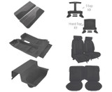 88-92 Camaro Deluxe Light Charcoal Encore Cloth Interior Kit  (style with front seat separate headrest)