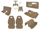 82-84 Firebird PMD Style Tan Cloth Interior Kit