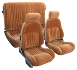 Firebird Base/ Trans Am 98-2002 Seat Upholstery Kit in Hampton Vinyl Leatherette -FOR STYLE WITH REAR PLASTIC BACKS