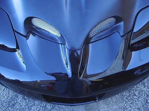 Hood, Firebird 98-2002 WSQ Ram Air Style Hood, bolt on, Fiberglass