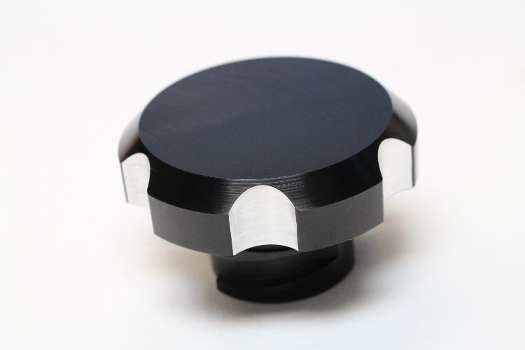 LSX LS1//LS6//LS2//LS3 Billet Aluminum Black Oil Cap w// O-Ring New *CBW-033B