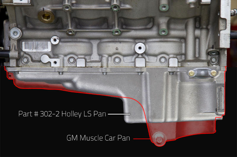 Holley Oil Pan Gm Ls Retro Fit 1955 87 Gm Muscle Car Classic Car