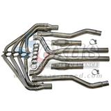 "2010+ Camaro Texas Speed 304 Stainless Steel Long Tube Headers w/ O/R 3"" X-Pipe"