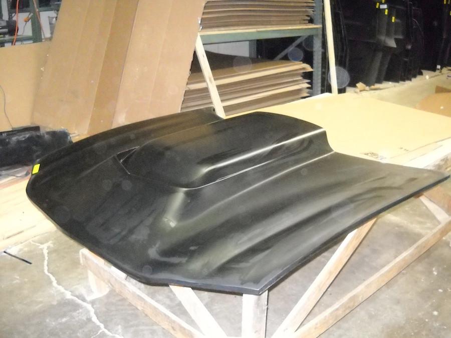 Hood, Camaro 98-2002 L88 Cowl Induction Hood, bolt on