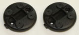 84-92 Camaro / Firebird Rear Hatch Shade Receptacles, Pair, Used