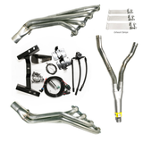 """82-92 Camaro / Firebird LSx Conversion Kit with """"Budget"""" Stainless Headers & Y-Pipe, using Factory K-Member"""