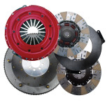 2009-2013  Corvette ZR1 RAM Clutches Force 10.5 900 Series Street Dual II Clutch Set, 1300+ ft/lbs of holding power