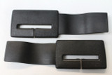 Camaro/Firebird 82-92 Seat Belt Headliner Upper Trim Guide, Black, New Reproduction, PAIR