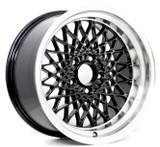 GTA Mesh Wheel Set of 4 17 x 9 Black Reproduction - FREE SHIPPING