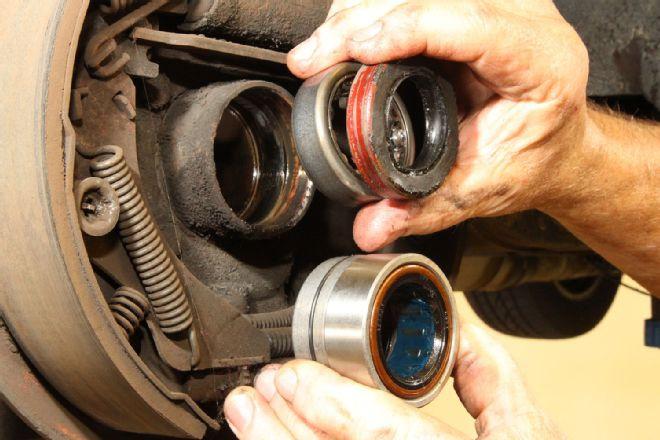 Stock Bearing And Seal Versus Timken Bearing on 97 Chevy Rear Brake Diagram