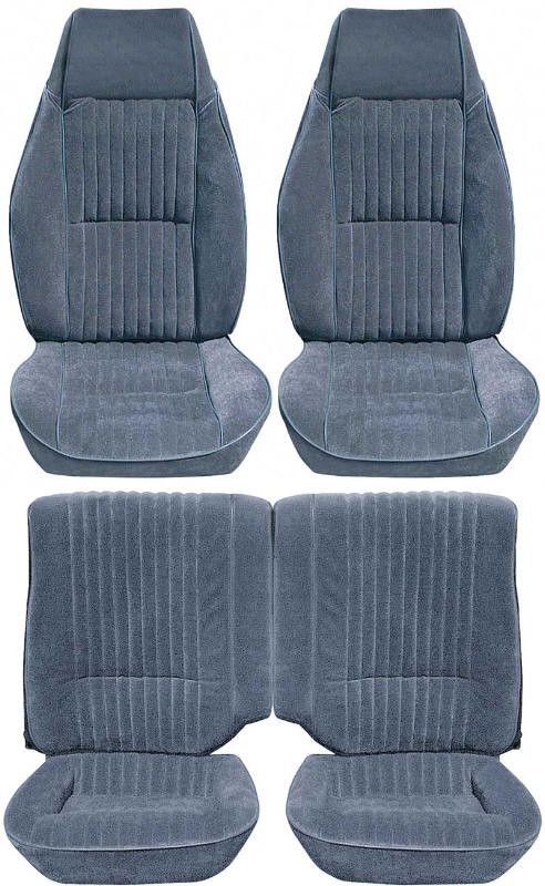 Camaro 82-86 Seat Upholstery Kit Vinyl or Cloth New Replacement