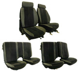 Camaro 85-87 Seat Upholstery Kit New Replacement Set