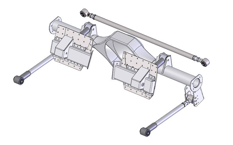 Detroit Speed Engineering 82-92 Camaro Firebird Rear Quadralink Conversion  Kit
