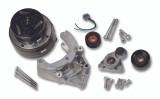 Holley A/C Compressor Bracket for LS Series Engines, Passenger Side Location, Includes R4 Compressor, Tensioner & Pulleys