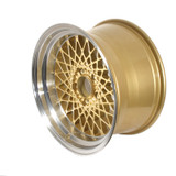 GTA Mesh Wheel Set of 4 17 x 9 Gold Reproduction FREE SHIPPING!