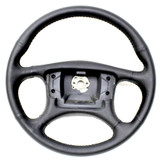 Formula/Trans Am/GTA 87-90 Recovered Leather Steering Wheel, Style WITHOUT Radio Controls